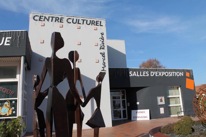Entrée du Centre culturel