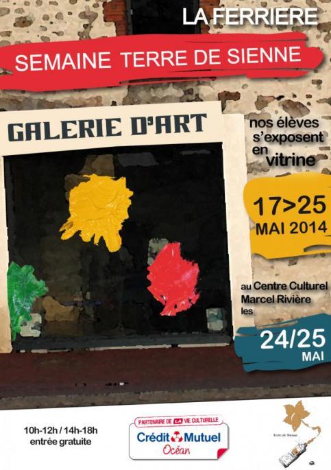 Affiche de l'exposition mai 2014