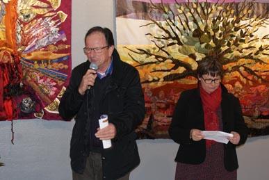 Vernissage : le mot du Maire Jean Marie Chamard