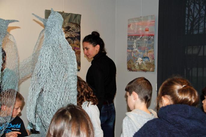 Un atelier avec l'artiste Tiana Guénant Ranariveloi