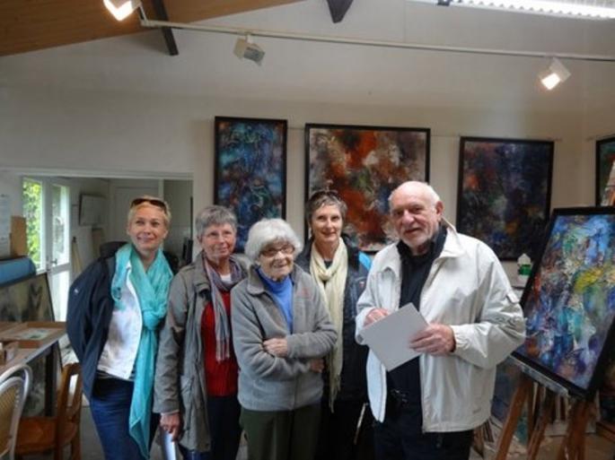 Visite de l'atelier de Michel GABORIT