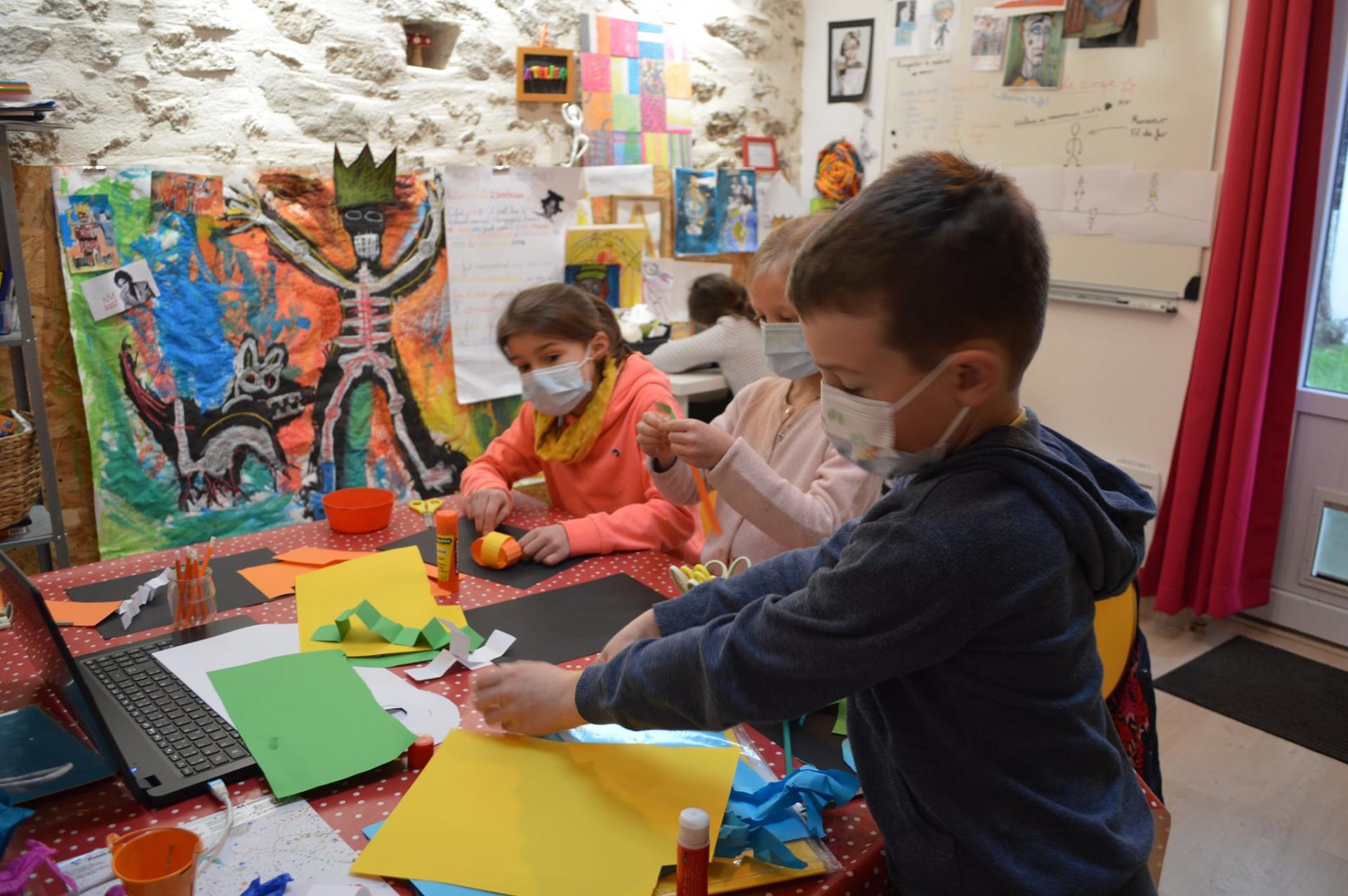 Atelier d arts plastiques pour enfants
